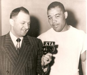 Likely Aug 1, 1951 when Louis faced Cesar Brion at the Cow Palace